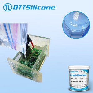 addition cured electronic potting silicone