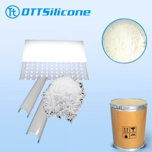 led silicone resin pownder