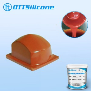 condensation cured siilicone for printing pads