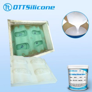 shoe sole casting silicone