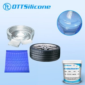 silicone for tire molding
