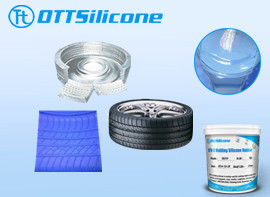 silicone for tire molds